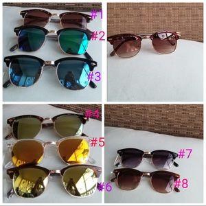Accessories - Stylish sunglasses unisex 100% 400 UV protection